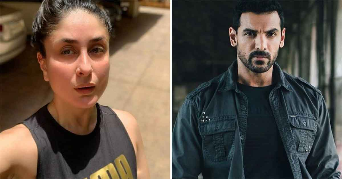 Kareena Kapoor Khan Ended Up Calling John Abraham Expressionless Once