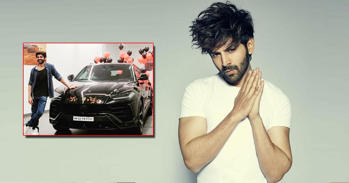 Kartik Aaryan Poses With His '4.5-Crore Beast' Lamborghini & Gets Bomb-Shocked, Read On