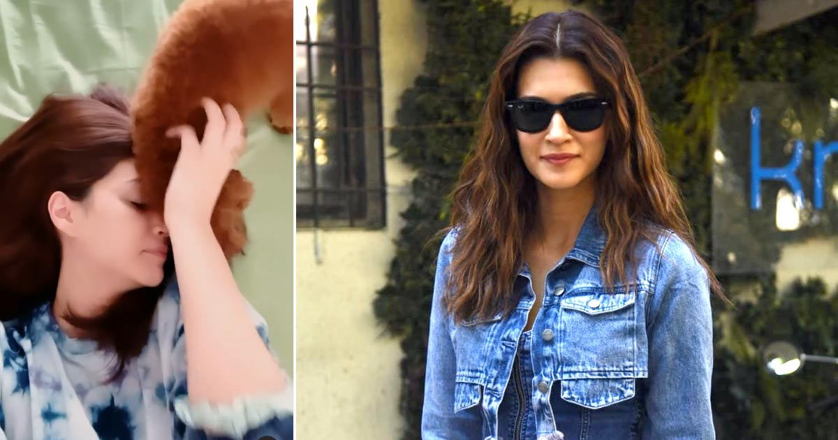 Kriti Sanon Shares A Secret Of Her Ever Glowing Face & It's 'Licklicious' - Check Out