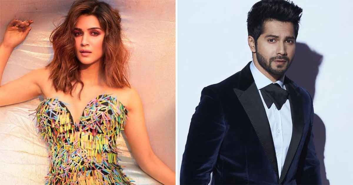 Bhediya: Kriti Sanon Captures Baby's Hilarious Reaction As Varun Dhawan Skips Feeding A Cake To Her