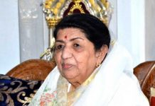 Lata Mangeshkar launches Marathi album on Gudi Padwa