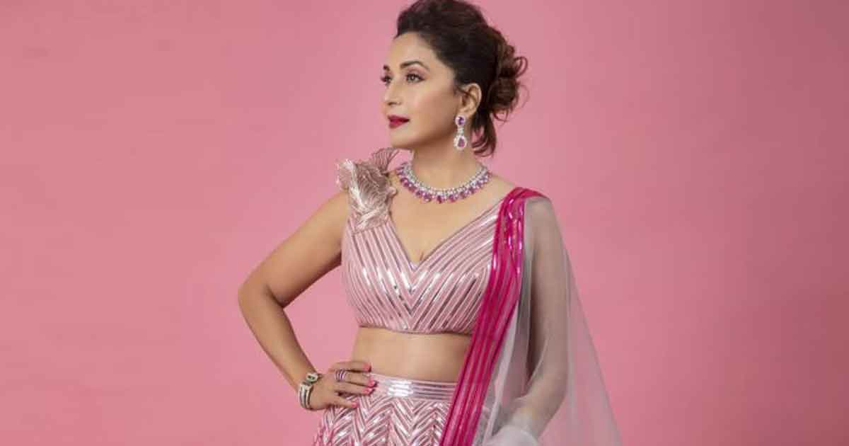 Madhuri Dixit Nene Looks Pretty As An Orchid In This Fuchsia Pink Lehenga, Read On