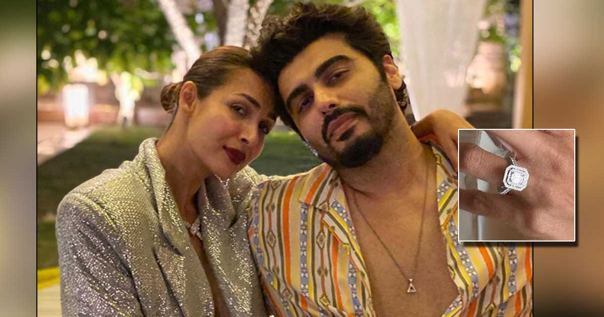 Malaika Arora's Pictures With Engagement Ring Gets Fans Wondering If She & Arjun Kapoor Have Taken The Next Step