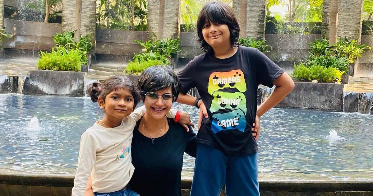 Mandira Bedi Slams Trolls For Calling Her Daughter 'Street Kid' & 'Prop Daughter From A Slumdog Centre'