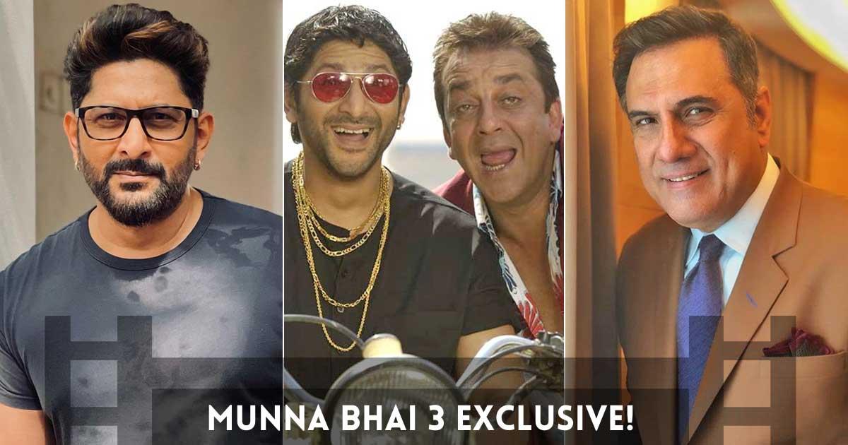 "Munna Bhai 3 Exclusive! Arshad Warsi & Boman Irani BREAK SILENCE; Circuit Says, ""...There Is No Film But"""