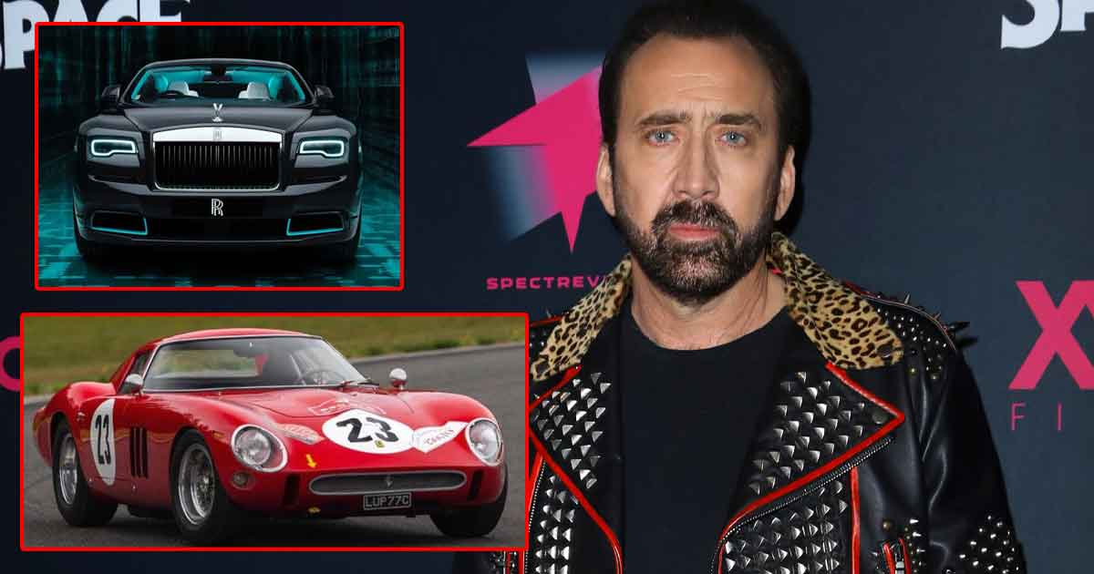 Nicolas Cage Car Collection: From Rolls-Royce To Ferrari 250 GT, The Ghost Rider Actor's Garage Is Full Of Hidden Gems