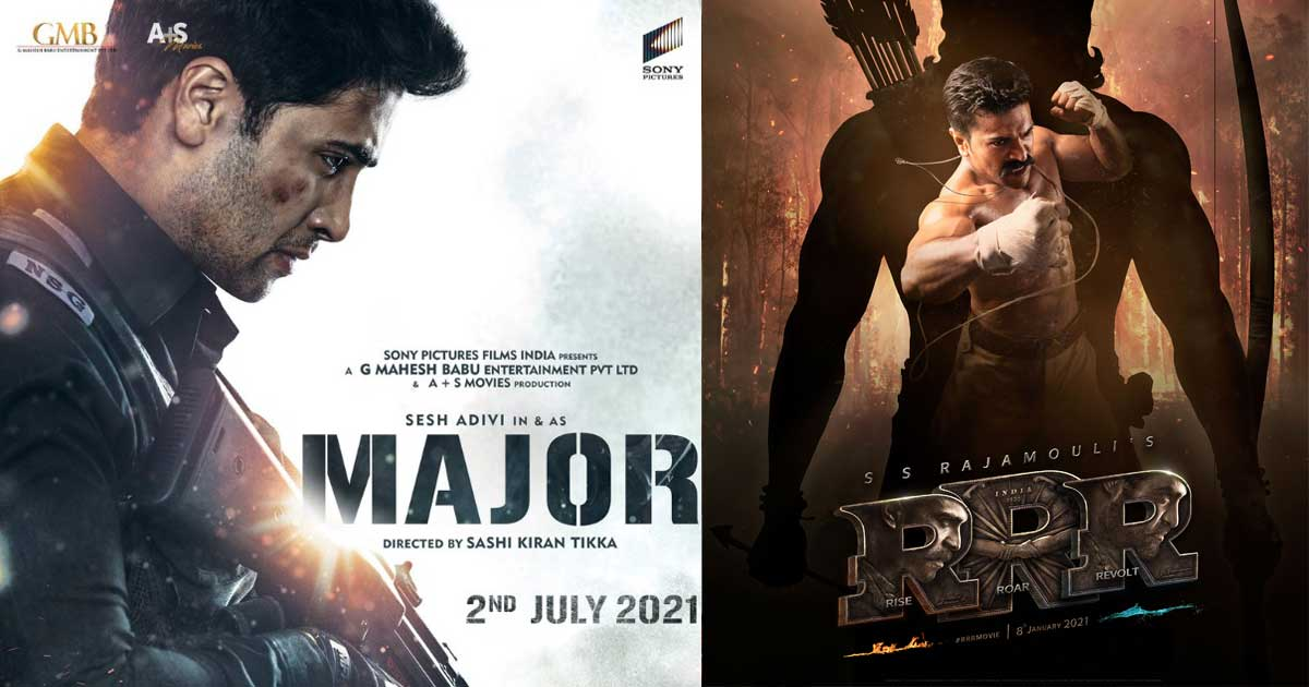 RRR To Major - South Movies Taking A 'Patriotic' Route!