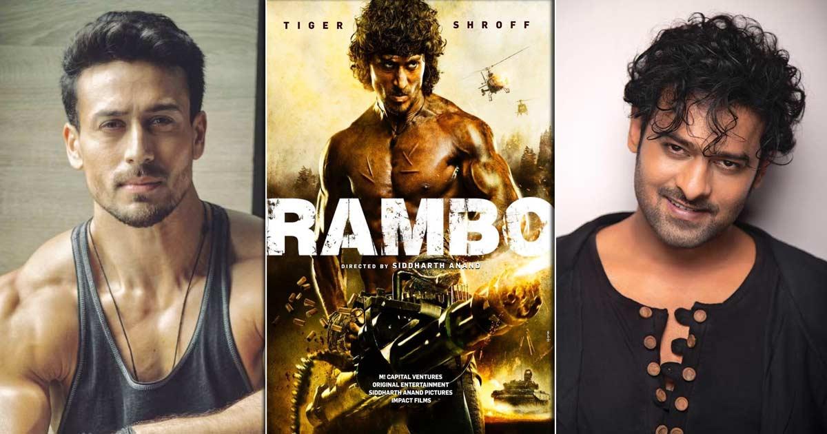 Prabhas Isn't Replacing Tiger Shroff In Rambo Remake