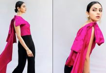 Rakul Preet strikes a pretty pink pose