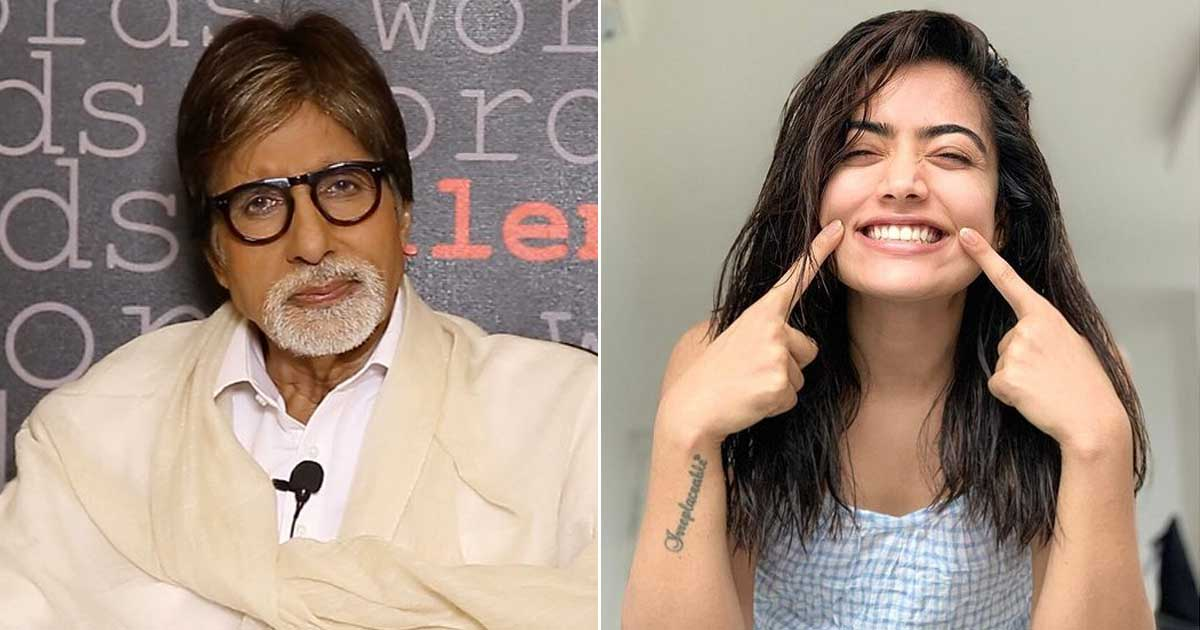 Rashmika Mandanna thought it was a prank on being told she'll work with Big B