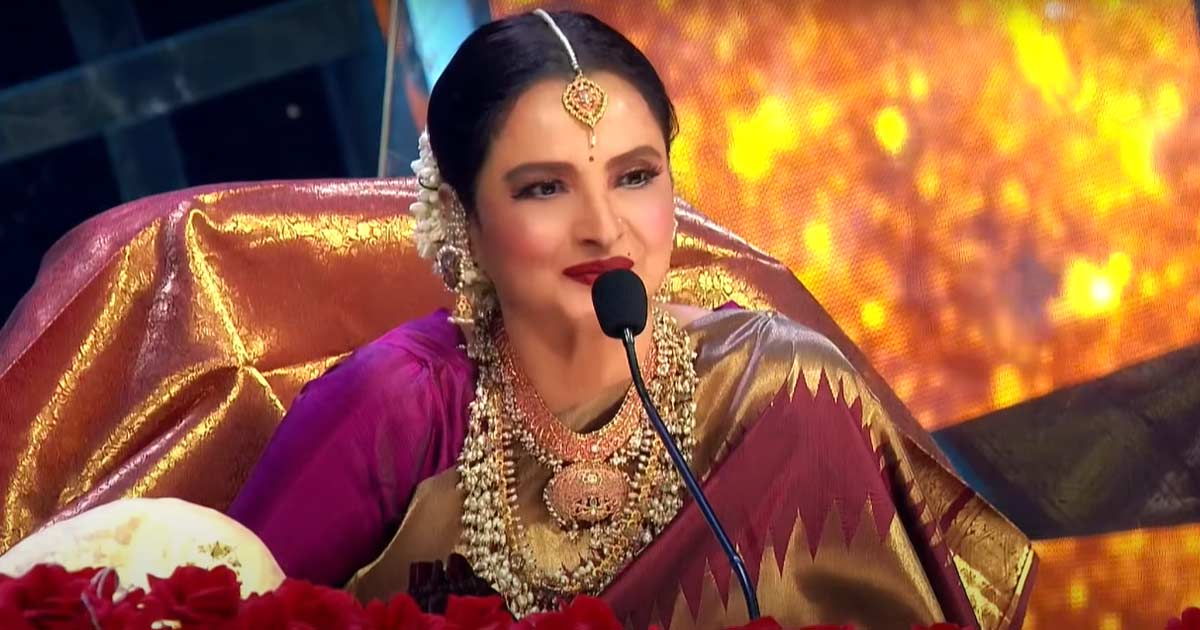 Rekha Confesses She's Been Crazy For A 'Married Man'
