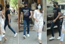 Rhea Chakraborty & Showik Spotted Outside NCB Office