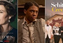 SAG Awards 2021: Chadwick Boseman Wins Posthumous Award; The Crown & Schitt's Creek Take Home Multiple Trophies In Drama & Comedy Series Categories Respectively