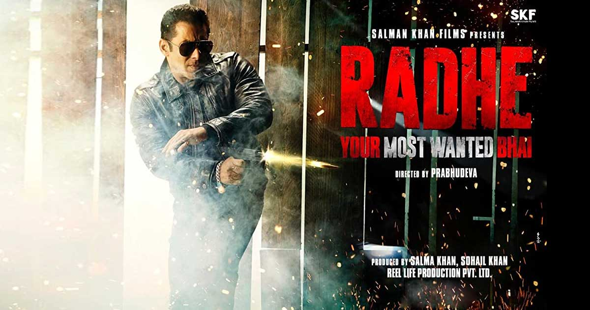 Radhe: Here's When The Salman Khan Starrer Will Release If Not The Eid Weekend