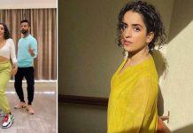 Sanya Malhotra flaunts a few throwback moves