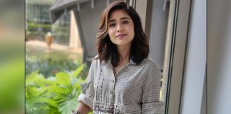 Shweta Tripathi shoots in Benaras amid Covid rise