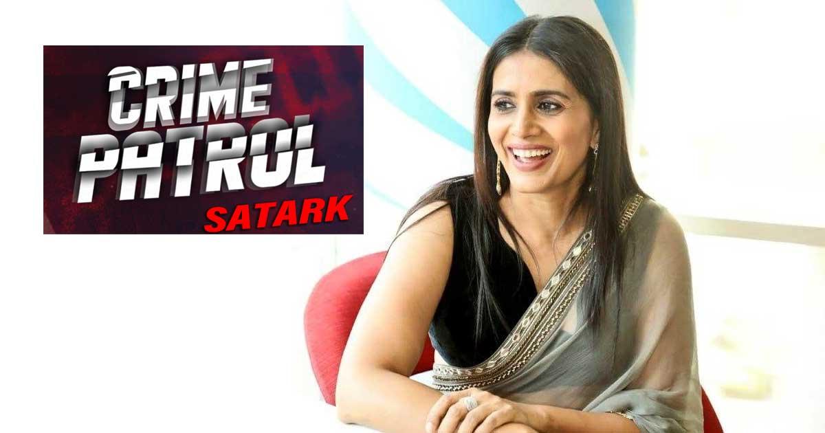 Sonali Kulkarni to host 'Crime Patrol Satark: Justice Reloaded'