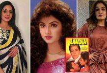 Sridevi's This Similarity To Divya Bharti Had Forced Raveena Tandon & Others To Chant Gayatri Mantra On The Sets Of Laadla
