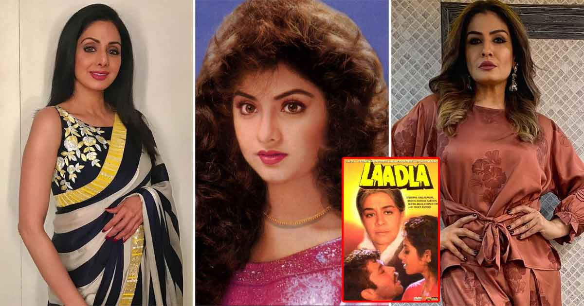 When The Cast Of Laadla Was Forced To Chant Gayatri Mantra Because Of This Similarity Between Sridevi & Divya Bharti