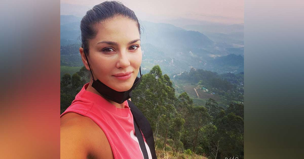 Sunny Leone Goes For A Morning Hike In Kerala, See Pics!
