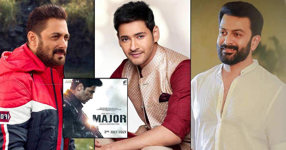 Superstars Salman Khan, Mahesh Babu & Prithviraj Sukumaran Come Together To Launch The Teaser Of The Film