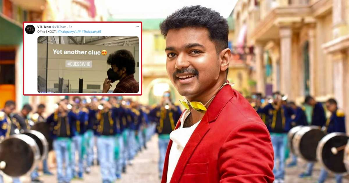 Thalapathy 65: Thalapathy Vijay Heads To Georgia For The Shoot, Fans Go Crazy Over Viral Video & Pic