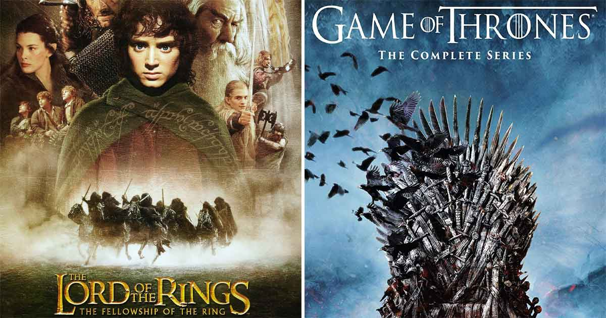 The Lord Of The Ring Series Is Costly Than Game Of Thrones