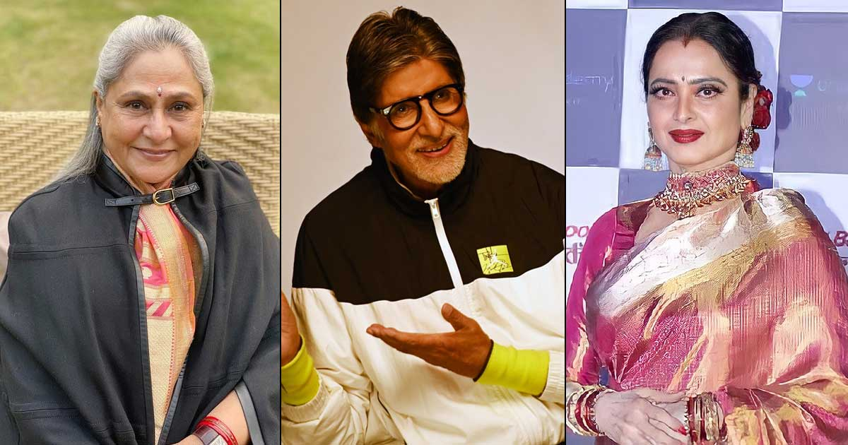 Throwback To When Jaya Bachchan Invited Rekha For Dinner & Amitabh Bachchan Was Out Of Town
