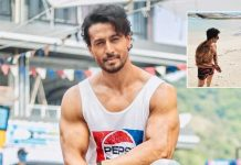 Tiger Shroff goes shirtless on the beach