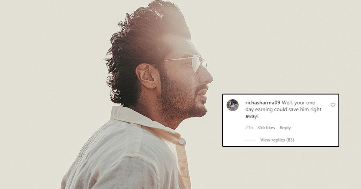 Trolls Ask Arjun Kapoor To Donate 16 Crores To A Child!