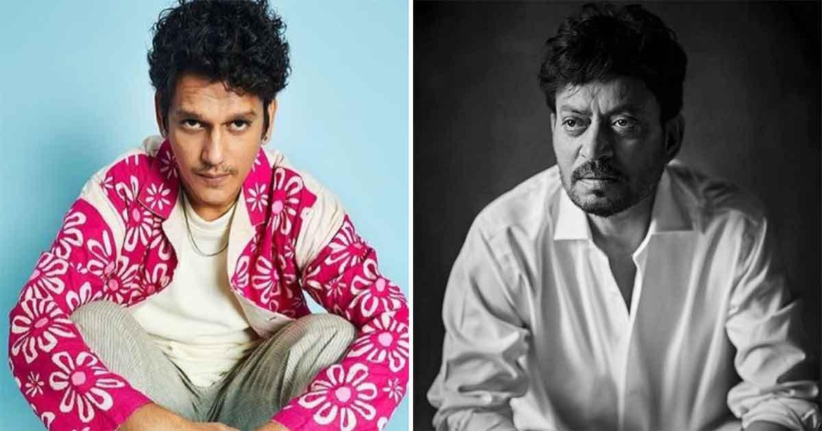 """Vijay Varma on Irrfan Khan, """"He had this way of helping people that was so generous"""""""
