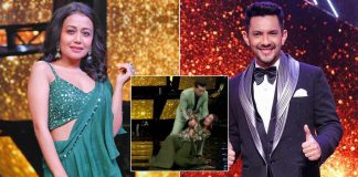 When Aditya Narayan Couldn't Catch Neha Kakkar While Dancing & She Tumbled Down The Stage, Read On