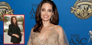 When Angelina Jolie, Pregnant With Brad Pitt's Kid, Rocked The Red Carpet Look Making Quite A Bold Fashion Statement With It