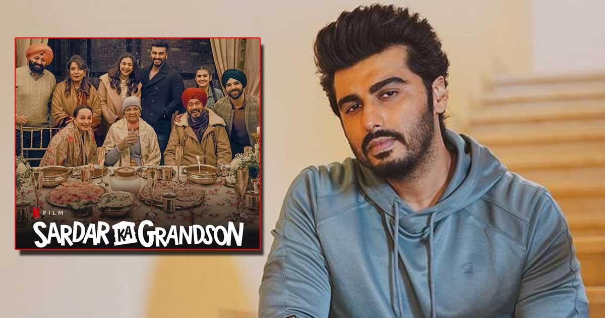 When Arjun Kapoor was bitten by a dog on 'Sardar Ka Grandson' set