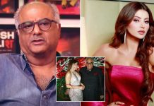 When Boney Kapoor Was Trolled For Allegedly Patting Urvashi Rautela's Derriere Becoming A Huge Deal Of Controversy, Read On