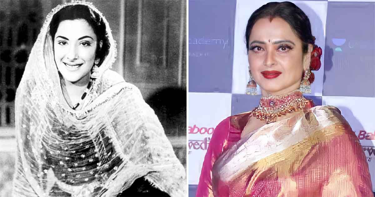 Nargis Dutt Once Called Rekha 'A Lost Person'