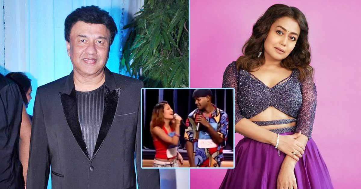 When Neha Kakkar Left Anu Malik Furious As He Slapped Himself After Her Performance - Check Out