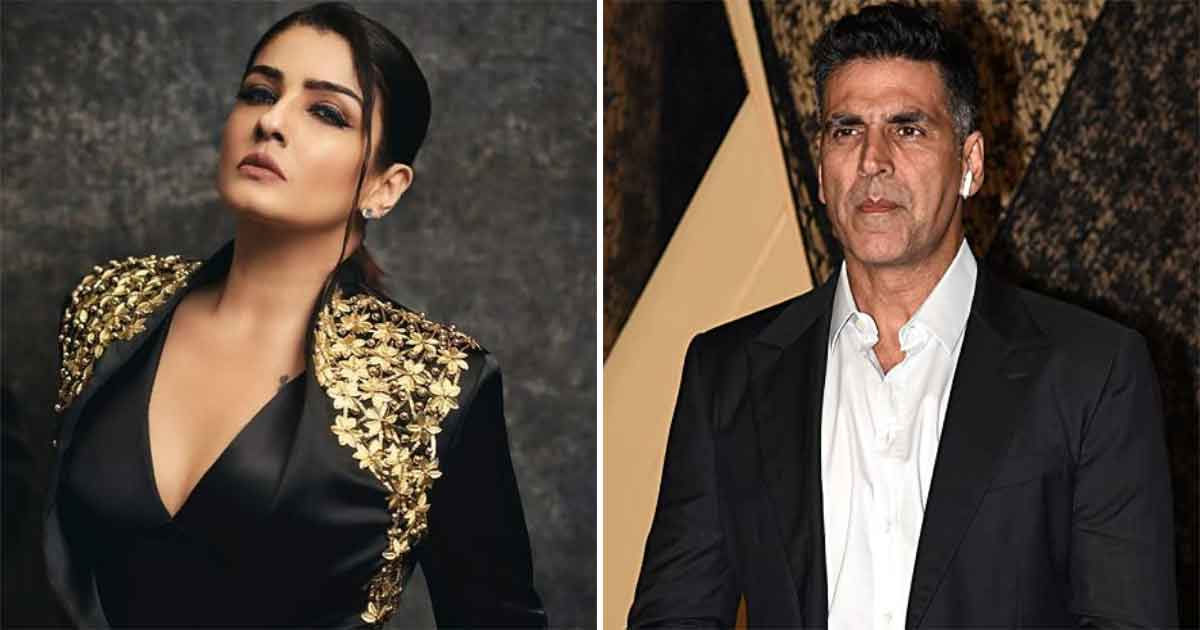"When Raveena Tandon Commented On Akshay Kumar 'Proposing Every Girl': ""He'll Have To Address Parents Of 3/4th Of Girls In Mumbai As 'Mom and Dad'"" - Check Out"