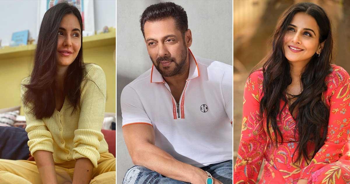 "When Salman Khan Made A Portrait Of Katrina Kaif But She Replied, ""This Looks Like Vidya Balan"""