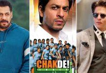 "When Salman Khan Rejected Chak De! India & Joked ""Shah Rukh Khan Should Be Part Of A Few Great Films Too"""