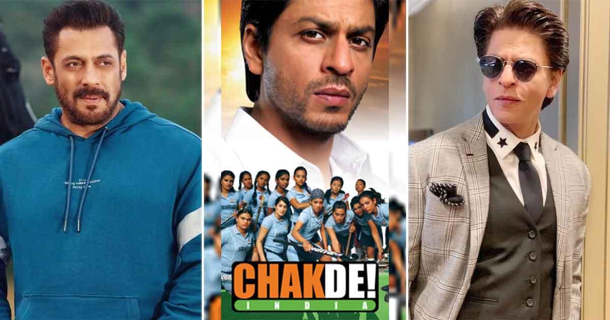 Not Shah Rukh Khan, But Salman Khan Was The First Choice For Chak De! India