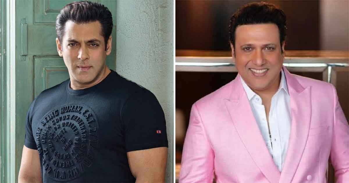 When Salman Khan Was Told To Not Come In Front Of Govinda For This Reason, Read On
