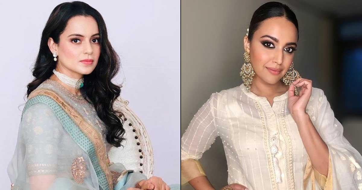 When Swara Bhasker Opened Up On Her Tiff With Kangana Ranaut