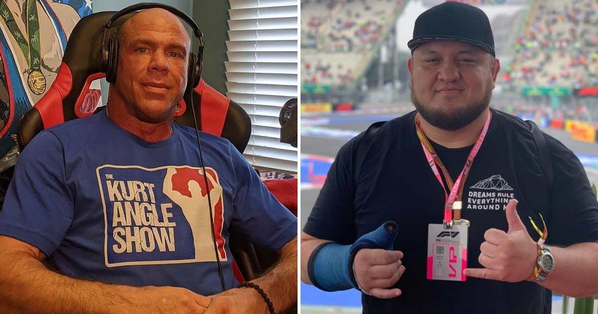 WWE Legend Kurt Angle On Samoa Joe's Release