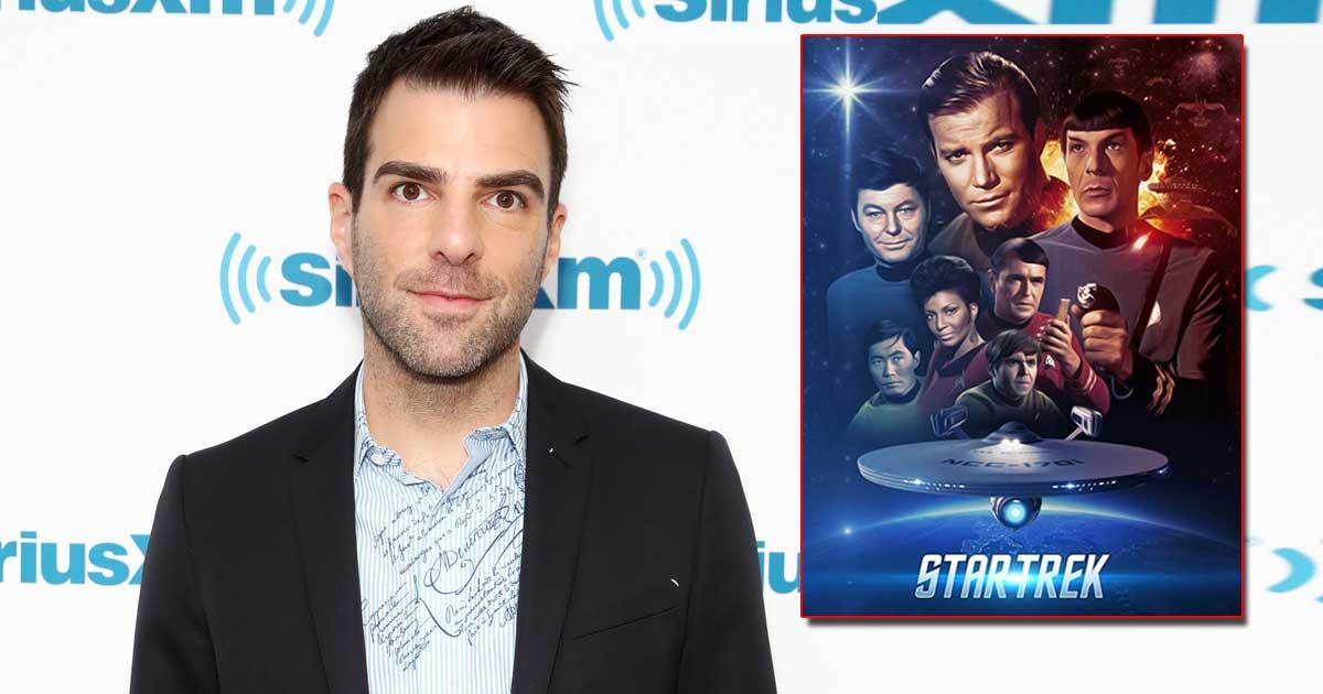 Zachary Quinto happy to 'jump back' to 'Star Trek'