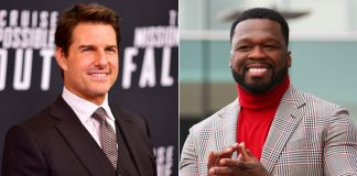 50 Cent hails Tom Cruise for backing protest against Golden Globes