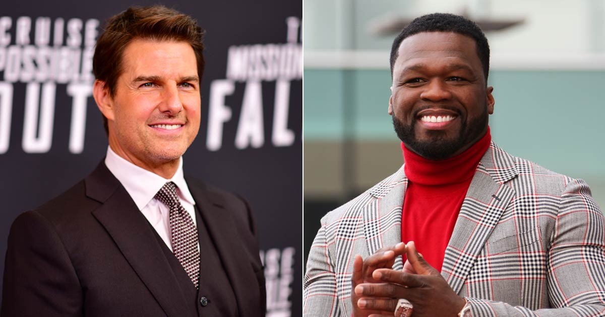 Tom Cruise Is 'The Man'! 50 Cents Comments On Mission Impossible Fame Returning His Golden Globes
