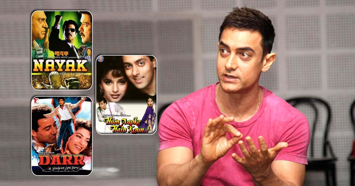Aamir Khan's Rejections Helped Salman Khan, Shah Rukh Khan & Anil Kapoor Bag Some Amazing Films