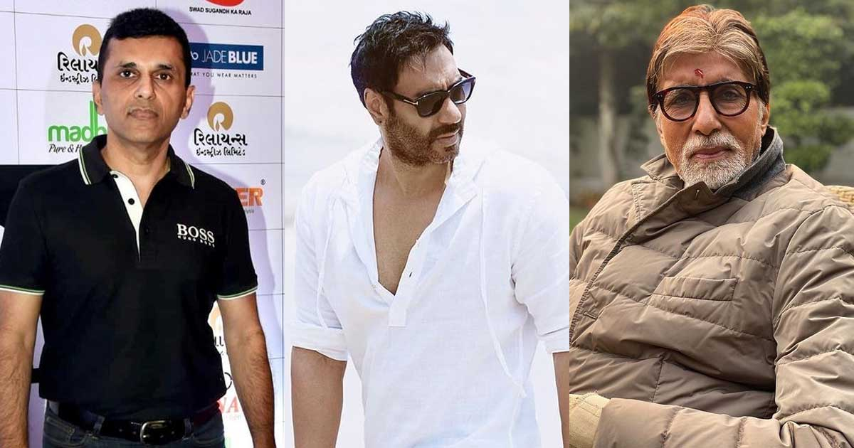 Ajay Devgn & Anand Pandit In The Midst Of Opening 2 More COVID Medical Centres In The City, Seek Amitabh Bachchan's Help For The One In Juhu