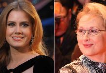 Amy Adams shares how Meryl Streep helped her calm down on set